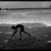 Circles in Sand-Port Antonio, Jamaica