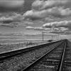 Tracks and Sky