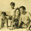 Seymour family in Union Pier, Michigan-1942