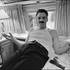 Denis Farina in his dressing room