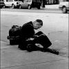 Homeless on LaSalle Street