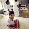 India-Girl in rural hospital