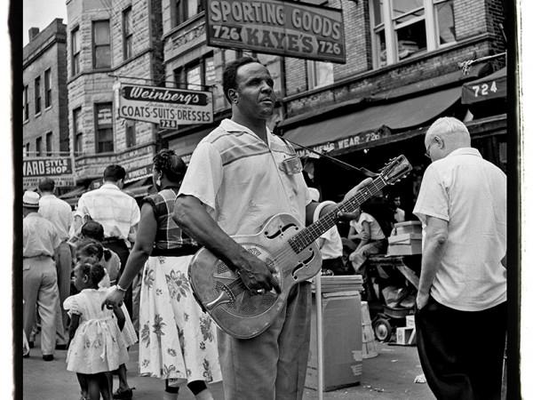 Maxwell Street, 1954  ››
